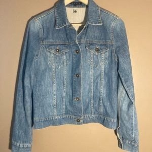 Theory denim jacket made in USA